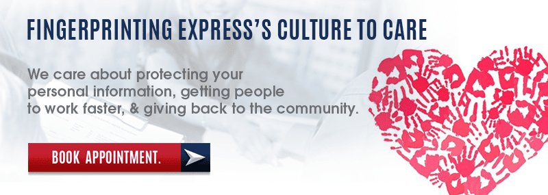 Culture To Care - Fingerprinting Express