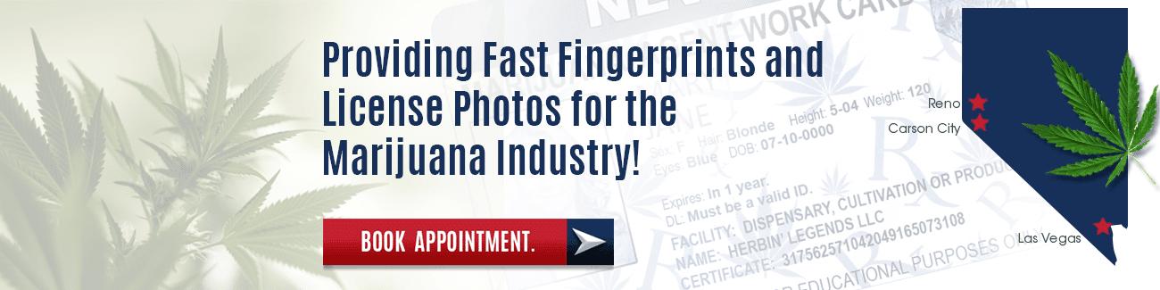 Marijuana industry - Fingerprinting Express