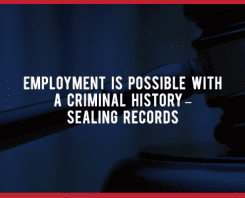 Sealing Records - Fingerprinting Express