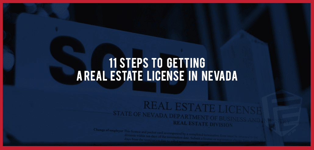 11 steps to getting a real estate license in nevada