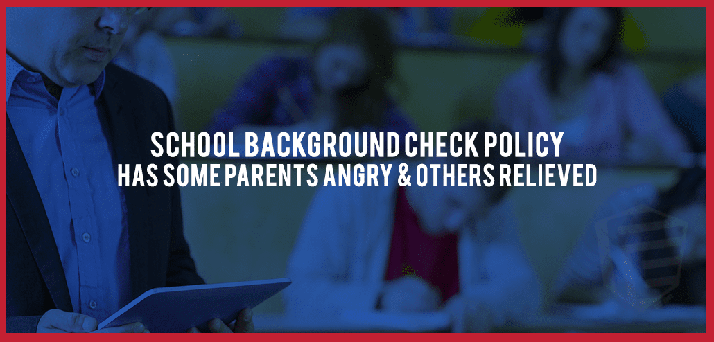 School Background Check Policy in Nevada