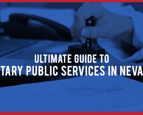 Ultimate Guide to Notary Public Services in NV