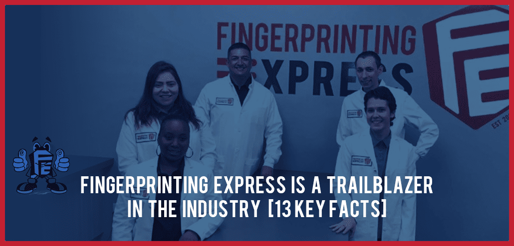 fingerprinting express is a trailblazer