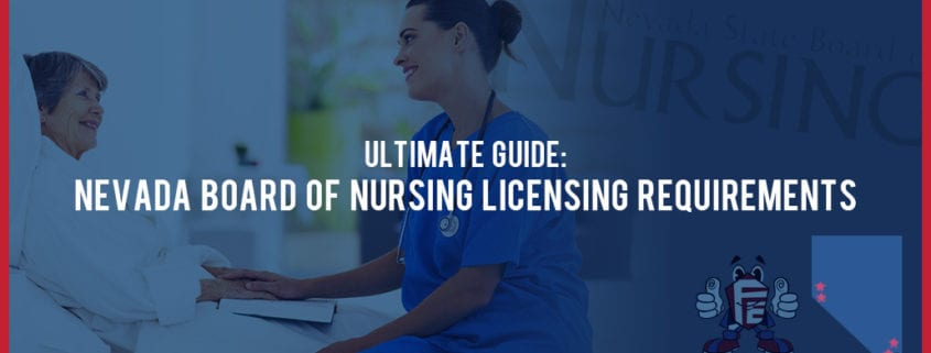 NV board of nursing licensing requirements
