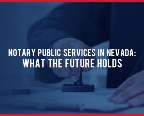 Notary Public Services In Nevada
